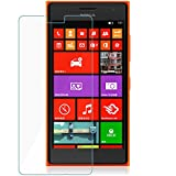 M.G.R.J Tempered Glass with 0.33mm Ultra Slim 9H Harness, 2.5D Round Edge, Crystal Clear for Nokia Lumia 730