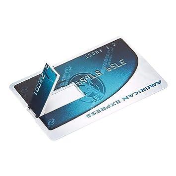 RZRCJ Tarjeta Bancaria Memoria USB HSBC Tarjeta De Crédito ...