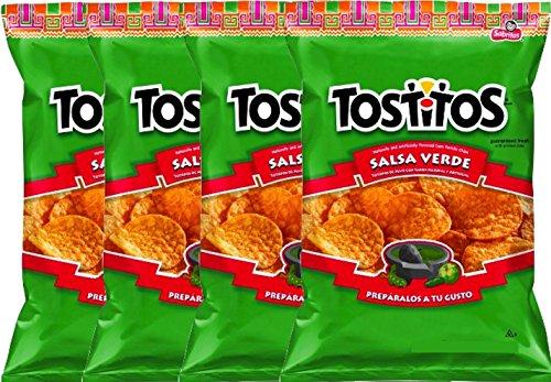 NEW Tostitos Salsa Verde Tortilla Chips - 3.25 Oz (4)