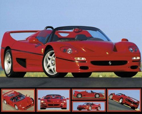 PAPER Ferrari F-50 Red Sports Car 6 pics 20