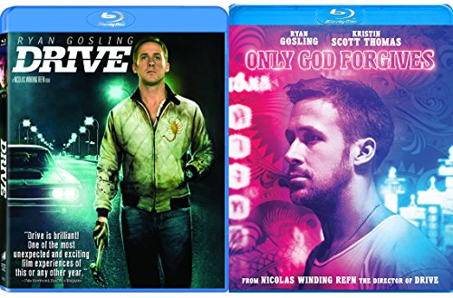 Only God Forgives & Drive [Blu-ray] 2 Pack Ryan Gosling Thriller Movie Set Double Feature (Fountain Double)