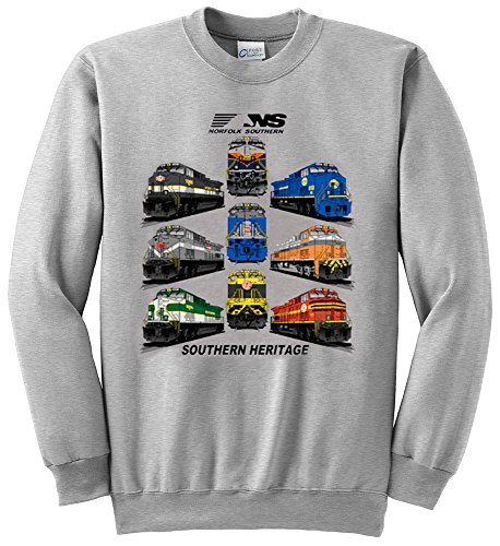 Norfolk Southern Southern Heritage Authentic Railroad Sweatshirt Adult X-Large [28]