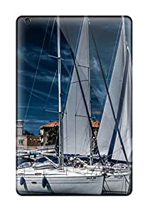 For Leighton Van Ness Ipad Protective Case, High Quality For Ipad Mini/mini 2 Sailing Boat Skin Case Cover