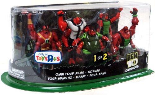 Ben 10 Omniverse Toysrus 1 of 2 Omni Four Arms Gorvan Four Arms V2 Manny Four Arms MIB