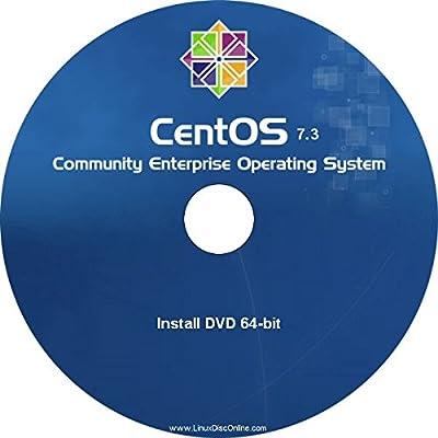 CentOS Linux v7.3 64-bit Full Install DVD - Latest Release