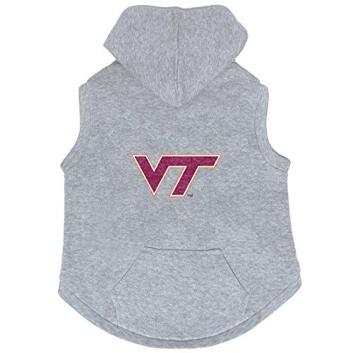 NCAA Virginia Tech Hokies Pet Hooded Crewneck, - Tech Virginia Boxers
