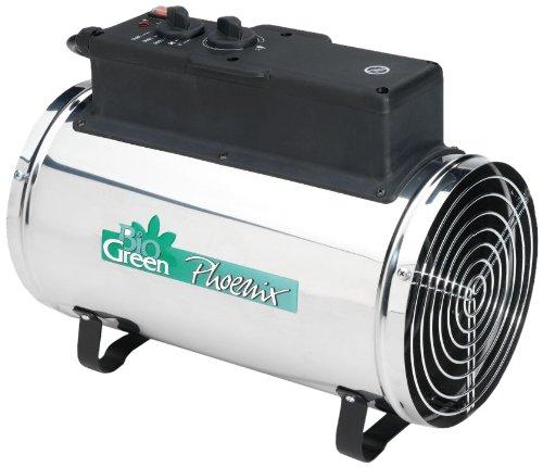 Biogreen PHX 2.8/GB Phoenix Electric Fan Heater 1.0/1.8/2.8KW