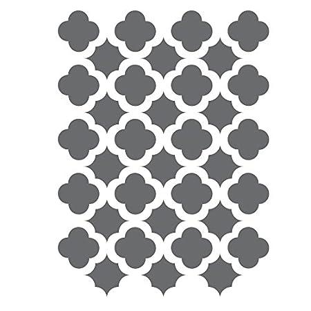 J BOUTIQUE STENCILS Moroccan Trellis Tile Stencils Template -small ...