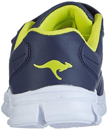 2081 Vert Bébé Mixte Baskets Kangaroos Mode Bleu 481 Bluerun citron Marine pxTAxq1