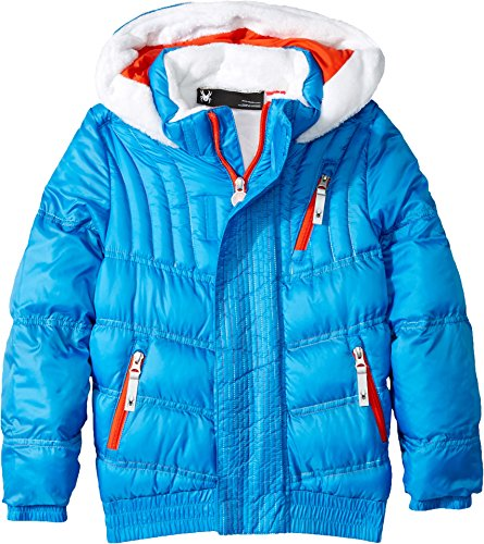 Spyder Bitsy Sybil Jacket, French Blue, Size 3 by Spyder