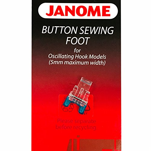 Janome Button Sewing Foot #200131007 For Oscillating Hook Mo