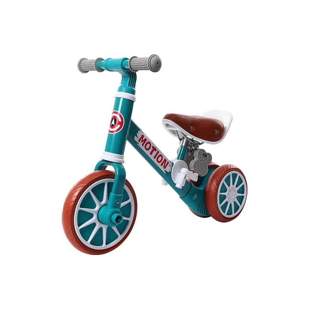 minorista de fitness verde verde verde CHAOYUE Equilibrio para niños Coche de Acero de Alto Cochebono sin Pedal 1-3-6 años Bicicleta de Deslizamiento de Doble Uso (Color   verde)  al precio mas bajo