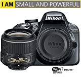 Nikon D3300 24.2MP 1080p Digital SLR Camera w/ 18-55mm VR II Lens (Grey) 1534B - (Certified Refurbished)
