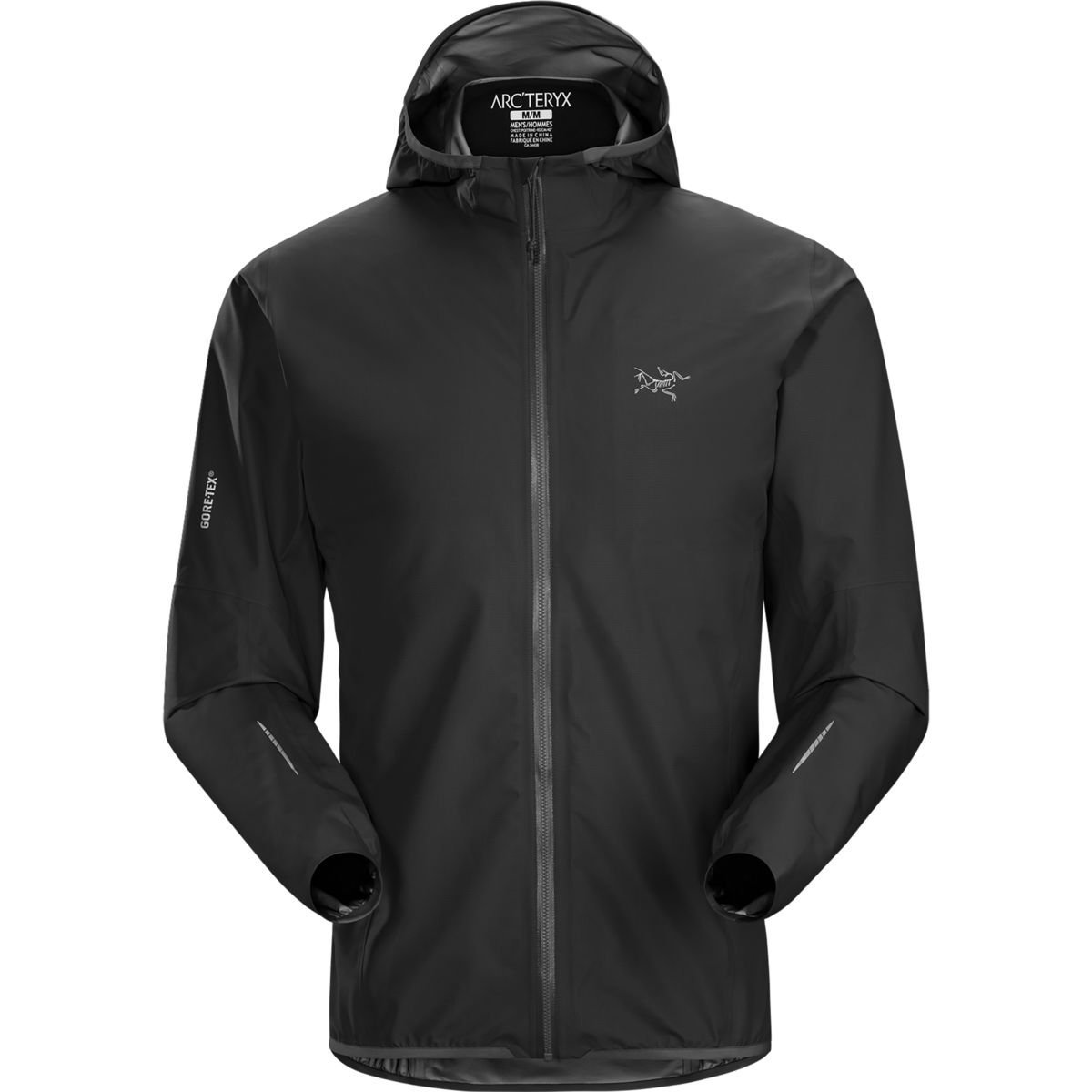 Arcteryx Norvan Jacket – Men 's B0163TSLBG X-Large|ブラック ブラック X-Large