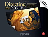 img - for Directing the Story: Professional Storytelling and Storyboarding Techniques for Live Action and Animation 1st edition by Glebas, Francis (2008) Paperback book / textbook / text book