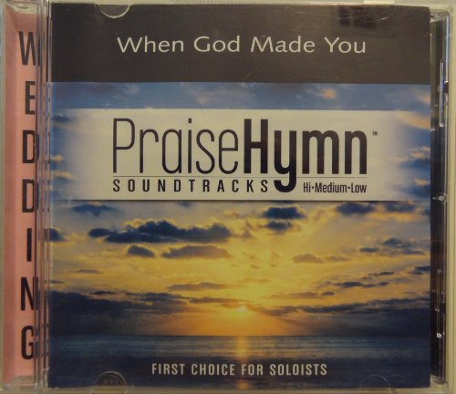(When God Made You - Vocal Training CD with multiple background vocal tracks and vocal coach)