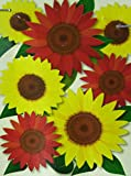 Fall Harvest Bouquet of Sunflowers Garden Flag - 12.5 Inch X 18 Inch