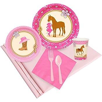 Amazon Com Birthdayexpress Western Cowgirl Party Supplies