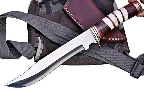 GCrafter Handmade D2 Toolsteel Bowie Knife - Premium Quality