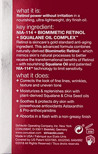 StriVectin S.t.a.r Light Retinol Night Oil, 1 fl. oz. by StriVectin (Image #1)