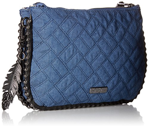 Simpson Jessica Crossbody Black Denim Quilted Camile dZqw0ZRg