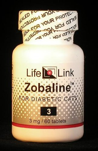 Zobaline for Diabetic Cats 3 mg x 60 tabs