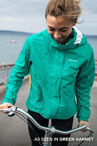 Marmot PreCip Women's Lightweight Waterproof Rain Jacket, Platinum, X-Small by Marmot (Image #9)