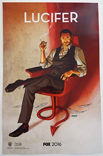 Lucifer Original Promo TV Poster Sdcc 2015 San Diego Comic Con