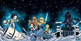 Star Wars #1, Darth Vader #1 & Princess Leia #1 - Skottie Young Connecting Cover Set - Bundle of Three (3) Marvel Comics!
