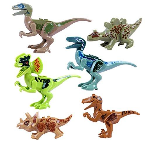 OliaDesign ABS Dinosaur Minifigures Dinosaur Building Blocks