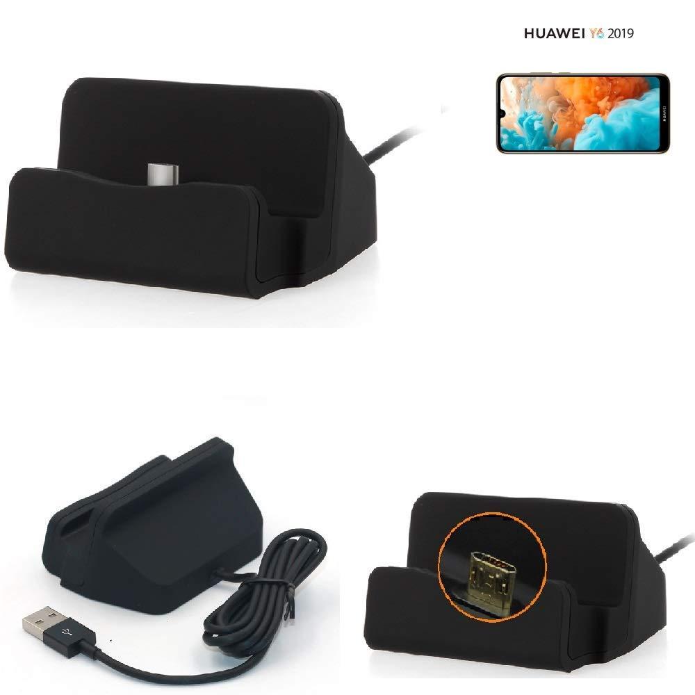 K-S-Trade® Base De Carga para Huawei Y6 (2019) Micro USB ...