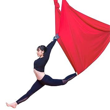 Amazon.com: Hamaca de yoga aérea HMJY, columpio de yoga de ...