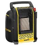 MARTIN Portable Propane Infrared Heater CHS7 7,000-BTU | Safe Space Portable Infrared Radiant Heater