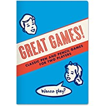 Great Games Passport Sized Activity Notebook - By The Unemployed Philosophers Guild