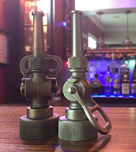 Elkhart Fire Nozzles - Firefighter Gift - Antique Fire Hose Nozzle Bottle Opener