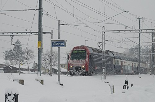 Home Comforts LAMINATED POSTER Winter S Bahn Swiss Federal Railways Train Sbb Poster 24x36 (Sbb Swiss)