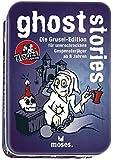 Moses. Black Stories Junior Ghost Stories   100 Gruselige Rätsel   Das Rätsel Kartenspiel für Kinder