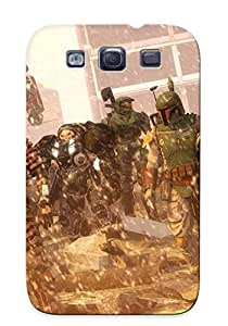 Chapiterq OcYstgO2652SDMwY Case For Galaxy S3 With Nice Star Wars Video Games Optimus Prime Transformers Starcraft Samus Aran Halflife Mass Effect Halo Gordon Appearance by icecream design
