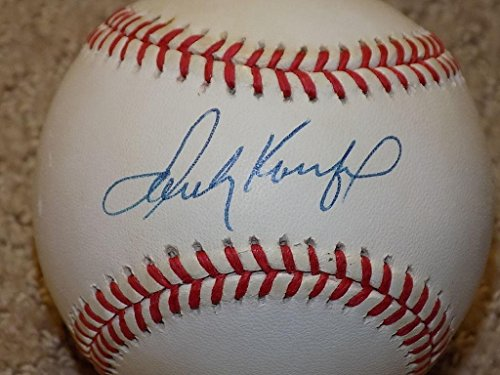(Autographed Sandy Koufax Ball - ONL HOF - JSA Certified - Autographed Baseballs)