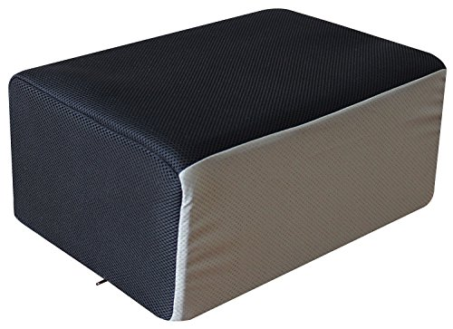 InteVision Foot Cushion (Special Edition) with Non-Slip Nylon Cover (17.5'' x 12'' x 8'') - Designed to Support Your Feet&Legs Comfortably While Sitting on a Bar Stool, Counter-Height Chair in a Kitchen by InteVision