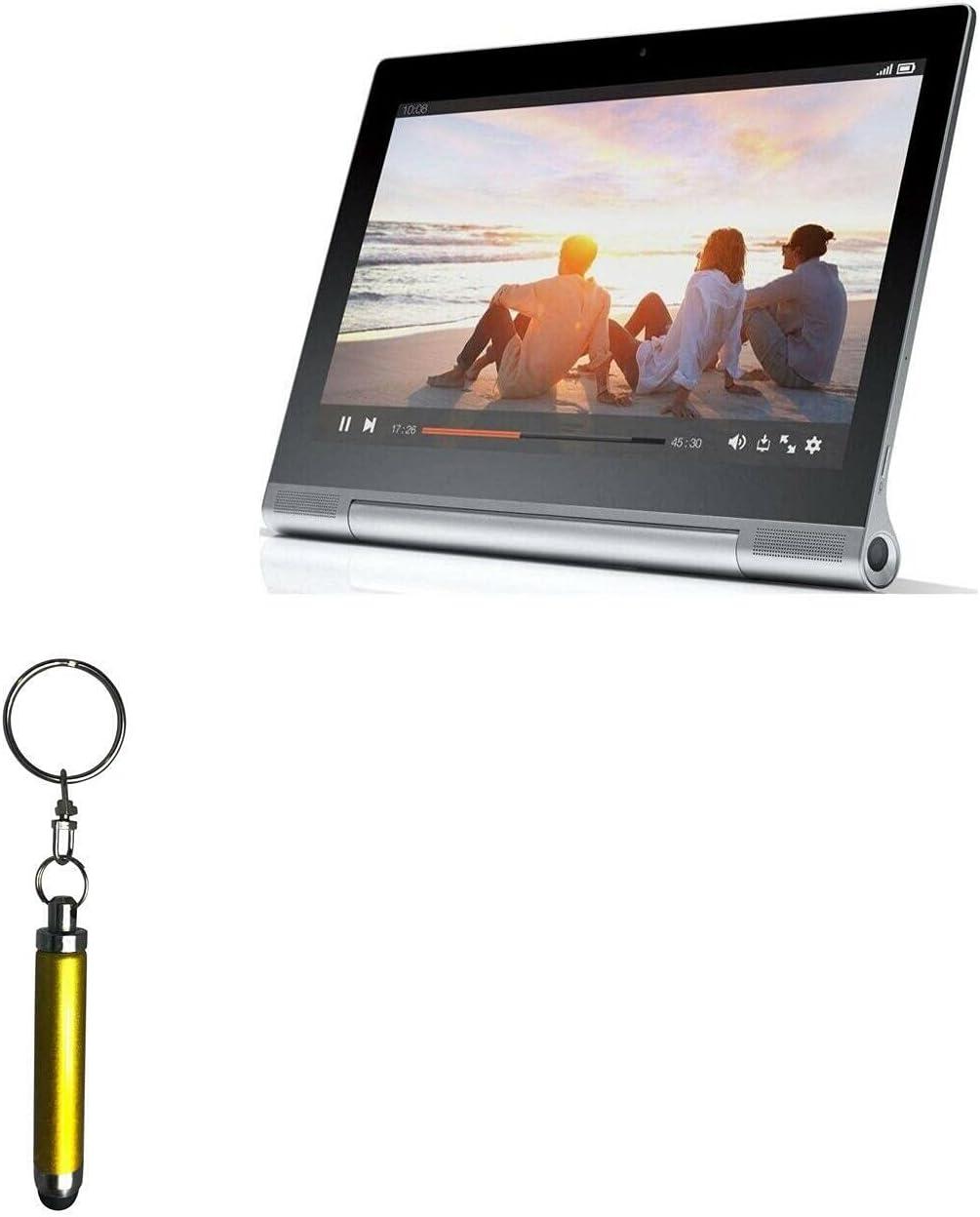 Stylus Pen for Lenovo Yoga Tablet 2 Pro (Stylus Pen by BoxWave) - Bullet Capacitive Stylus, Mini Stylus Pen with Keyring Loop for Lenovo Yoga Tablet 2 Pro - Bronze