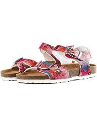 Kids Cork Sandals for Boys Girls Summer Outdoor Sandal Buckle Straps