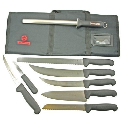 Mundial Mundigrip Mad Cow Cutlery Competition BBQ Knife Set