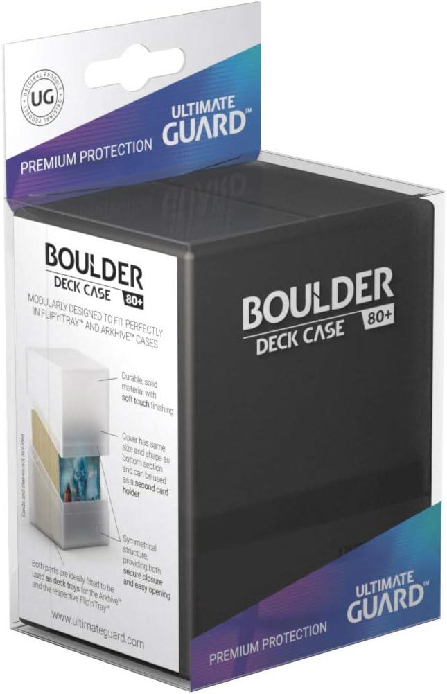 Ultimate Guard Boulder Deck Case - Caja para 80 Cartas, tamaño estándar, Color Amatista: Amazon.es: Juguetes y juegos