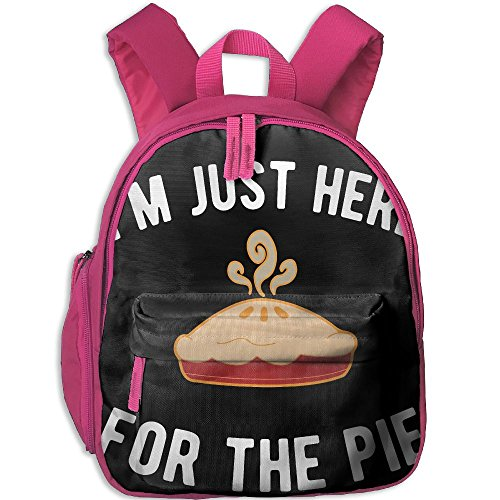 (Children Pre School Backpack Boy&girl's I'm Just Here For PIE Book Bag)