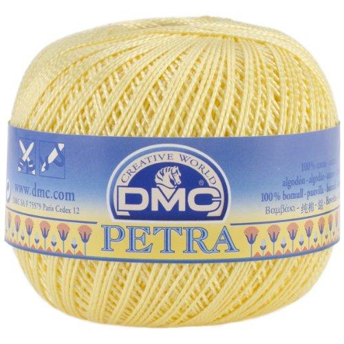 tton Thread, Size 5-5727 (Yellow Cotton Crochet Thread)