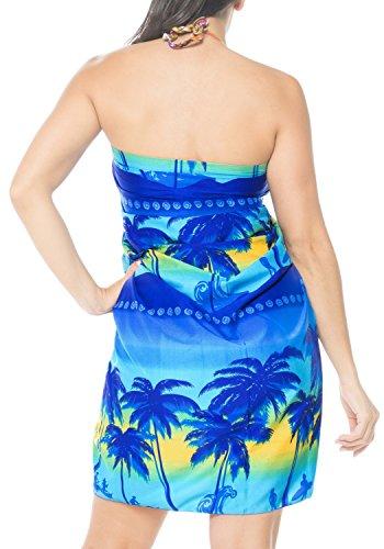 LA Blu insabbiamento nodo bagno ricorrono da e395 incorporati beachwear da bagno LEELA sarong vestito bikini legami costume ZrFwqZH