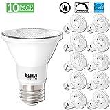 Sunco Lighting 10 Pack PAR20 LED Light Bulb 7 Watt (50W Equivalent) Flood Dimmable 2700K Kelvin Soft White, 470 Lumens, Indoor/Outdoor, 25,000 Hrs, Accent and Highlight - UL & ENERGY STAR LISTED