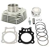 Cylinder Piston Gasket Top End Rebuild Kit For Honda Rancher TRX350 TRX 350 2000 2001 2002 2003 2004 2005 2006