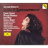 Gaetano Donizetti: Lucia Di Lammermoor [Cheryl Studer, Placido Domingo, Juan Pons, Samuel Ramey; London Symphony Orchestra; Ion Marin] (Original DG Release on CD with Complete Libretto in Italian with English Translation)